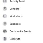 Lambtown Android app, More menu